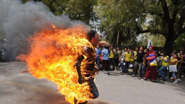 Dalit activist who set himself on fire in Gujarat dies