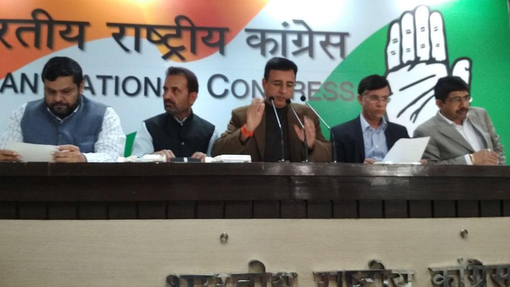 Cong trains guns at Modi govt; says 'Bank Loot Scam' totals ₹21,306 crore