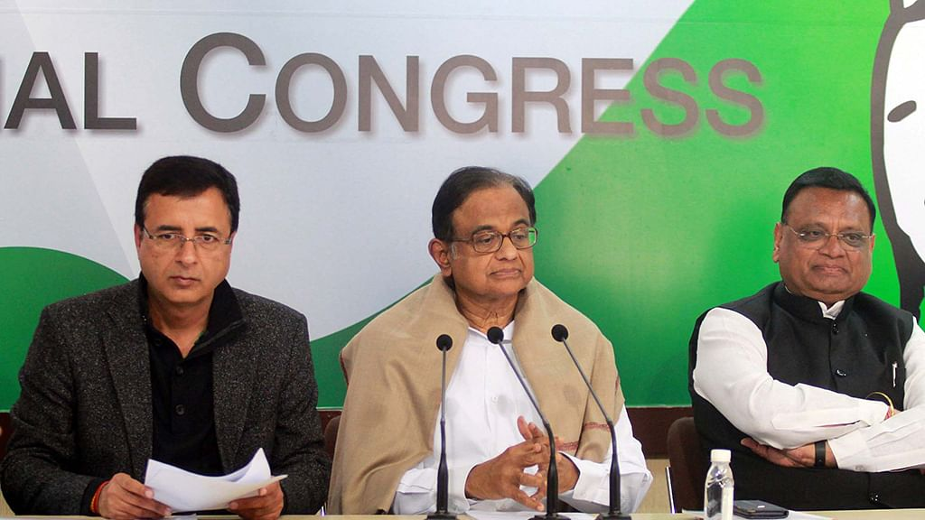Promise of Rs 5 lakh for healthcare a 'big jumla': P Chidambaram