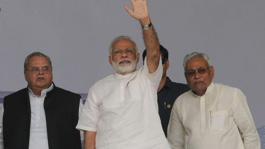 BJP makes Nitish Kumar it's junior ally in Bihar