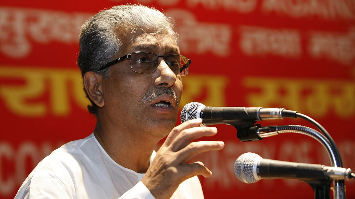 BJP using 'terror collaborator' to oust Left govt in Tripura: CM Manik Sarkar