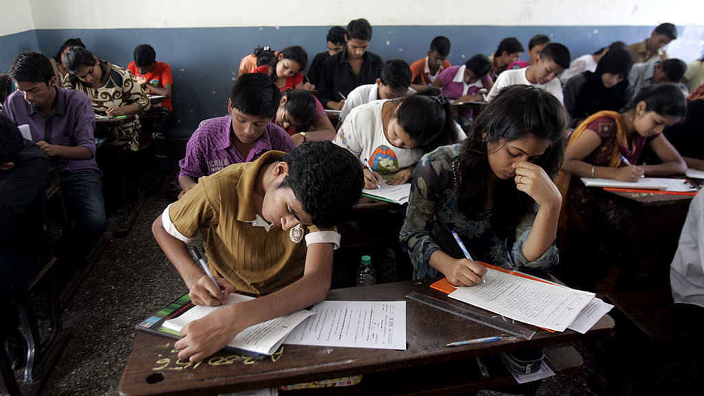 UP: 62 people reportedly arrested at BJP leader's house writing exam papers for students
