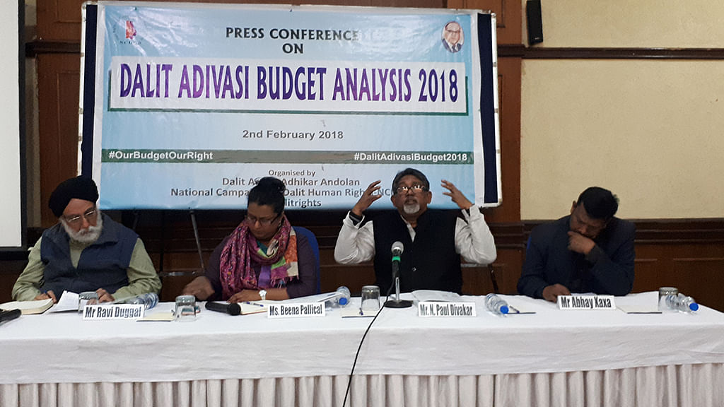 Dalit activists call Budget 2018 'anti Dalit-anti Adivasi'