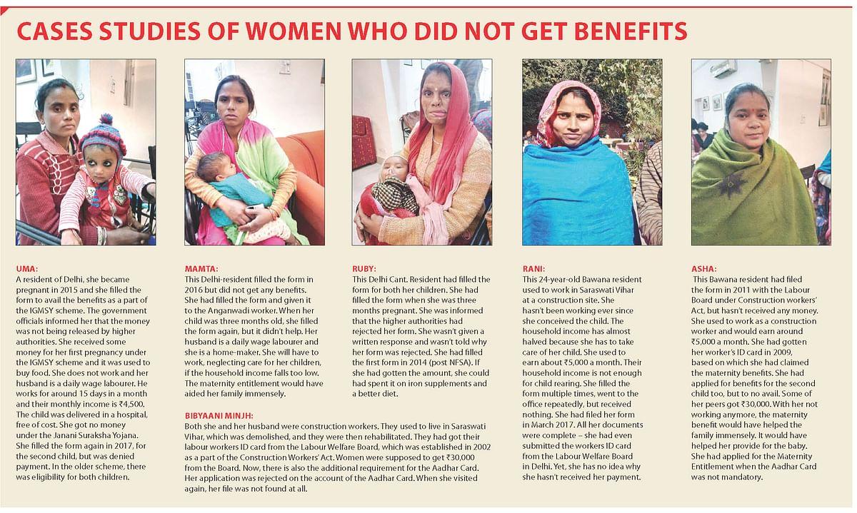 Money eludes mothers in Modi's India