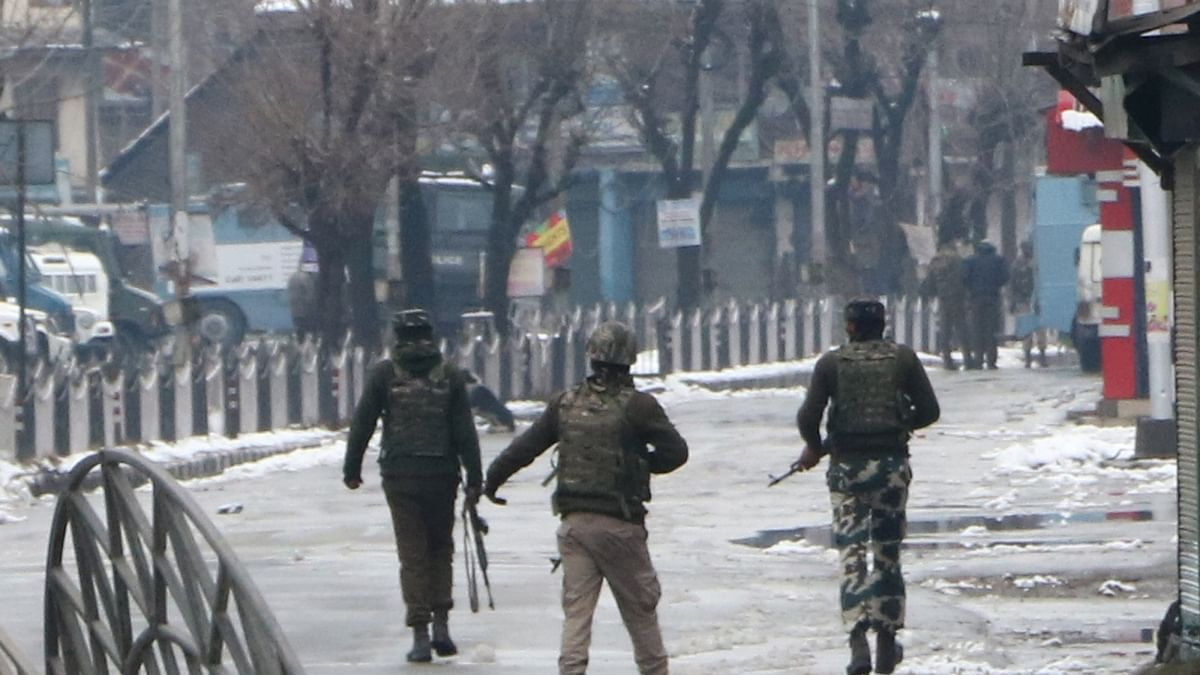 Three militants killed in Kashmir gunfight