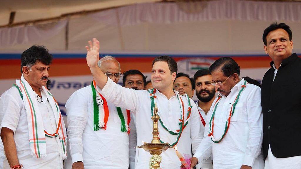 Rahul Gandhi says RSS behind demonetisation, NDA policies