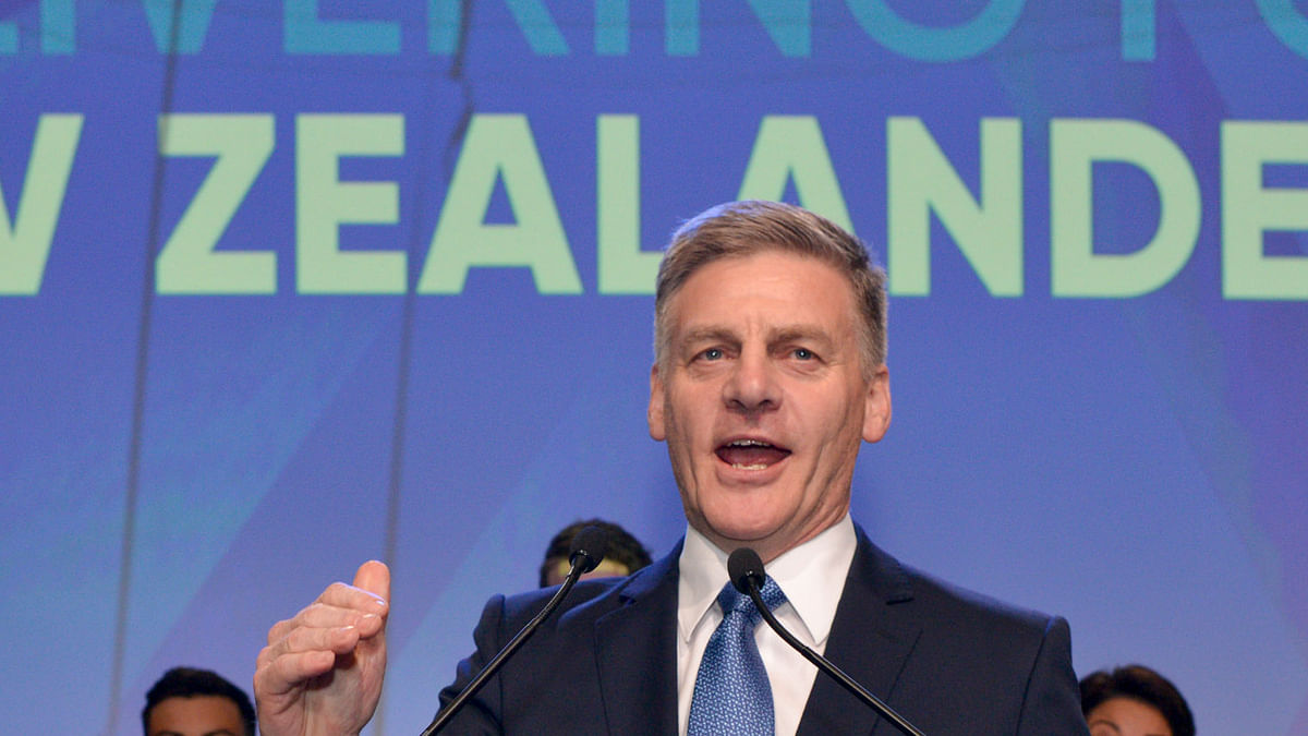 New Zealand opposition leader Bill English resigns, quits politics