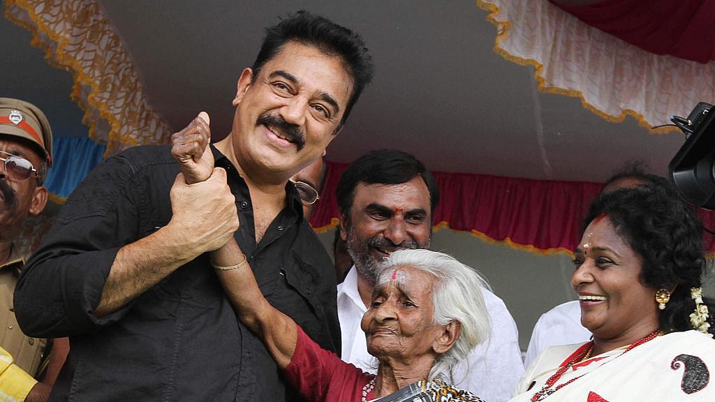 Kamal Haasan says no alliance if  colour of Rajnikanth's politics is saffron