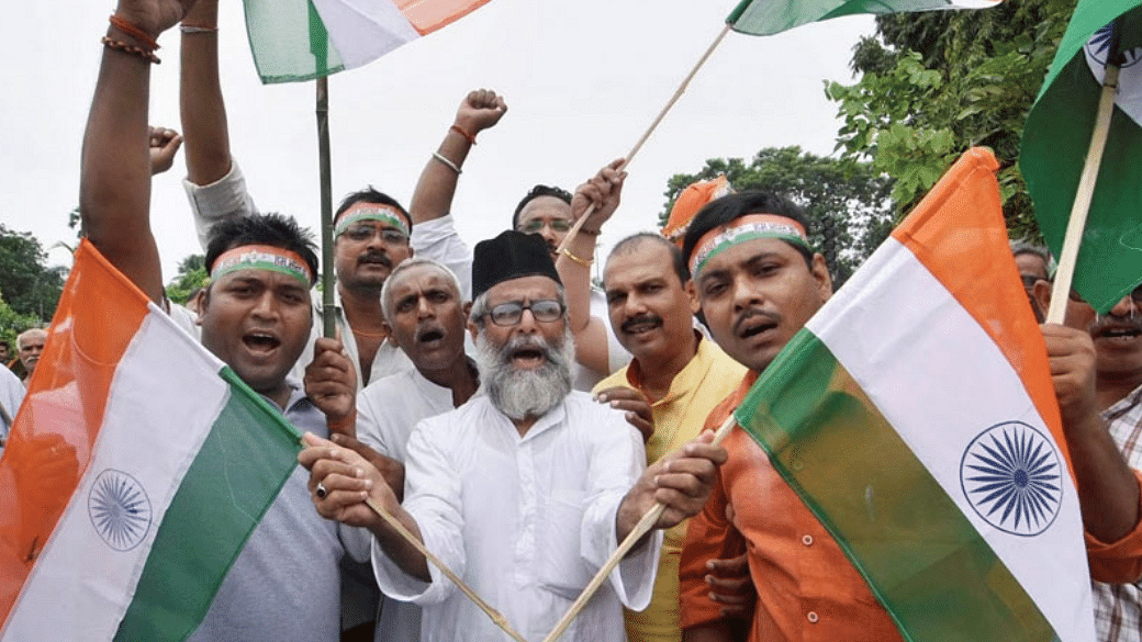 Agra Muslims attempt 'Tiranga Yatra' to highlight grievances