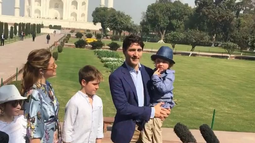 Visiting Canada PM Justin Trudeau tries hard to avoid confronting Punjab CM over Khalistan