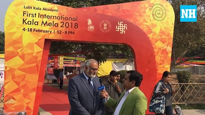 Watch: The fascinating glimpses of the first International Kala Mela