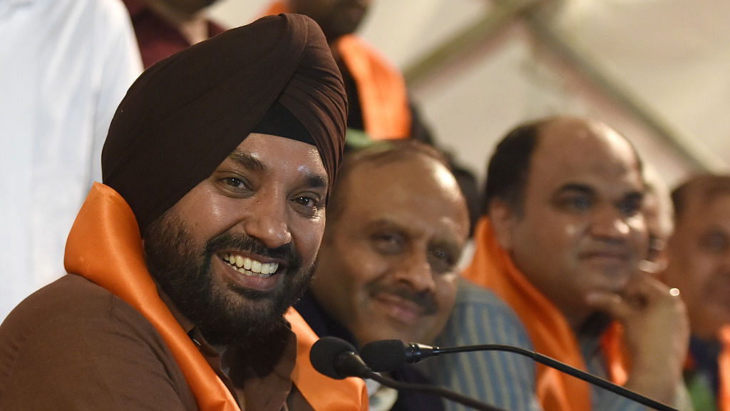 Arvinder Singh Lovely returns to Congress after less than a year in BJP