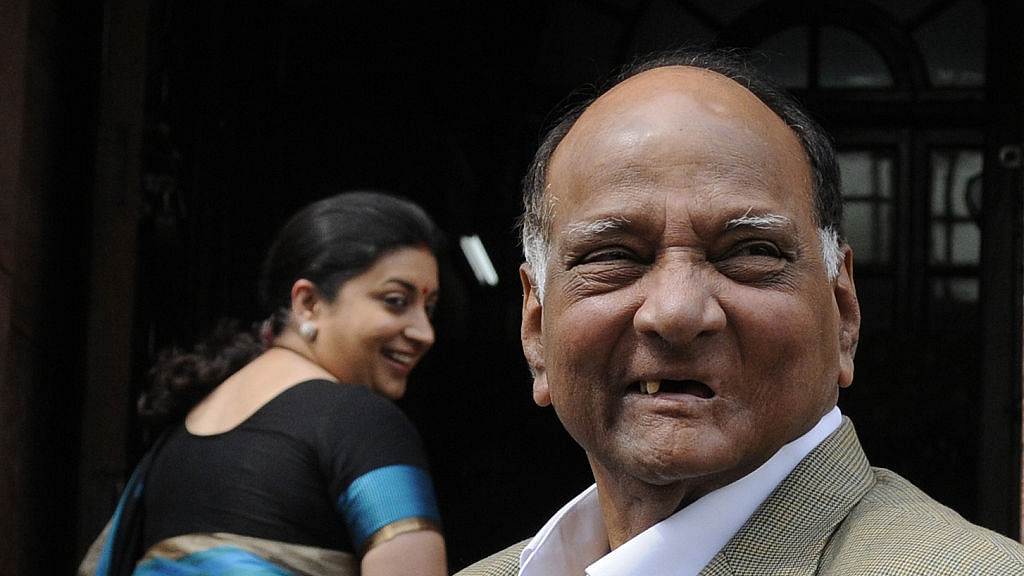 Sharad Pawar says 'like-minded' parties can defeat BJP in 2019