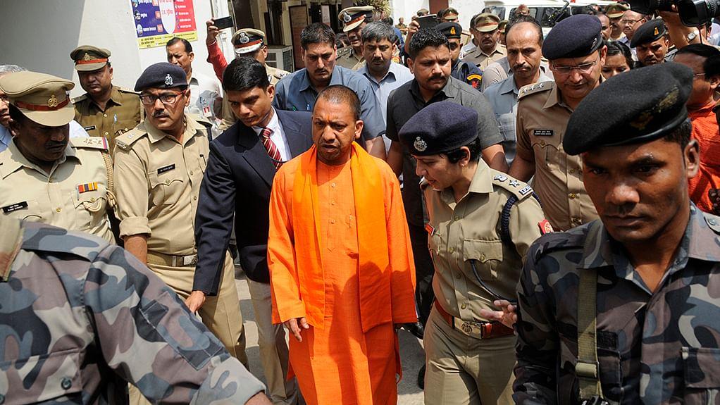 What stops Yogi Sarkar from ordering a CBI probe into encounters?