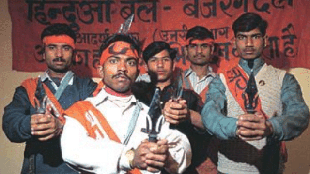 VHP, Bajrang Dal members held for threatening couples on Valentine's day