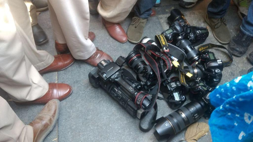 JNU long march: Delhi journalists support students' version