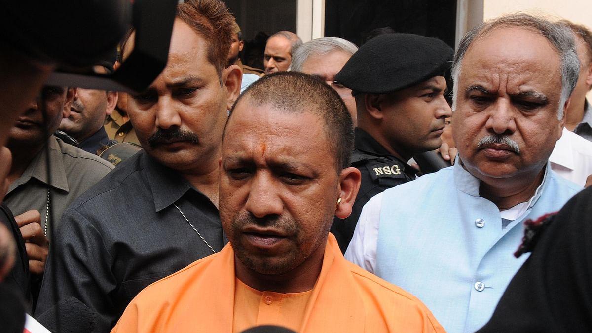 Yogi transfers Gorakhpur DM, other officials; belatedly addresses farmer distress