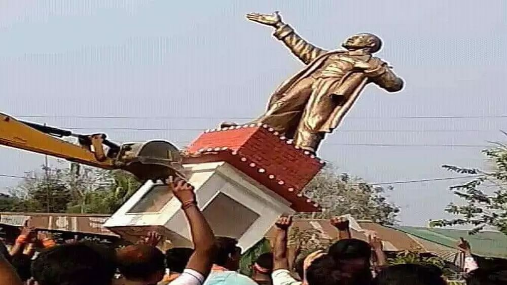 History cannot be erased by pulling down statues