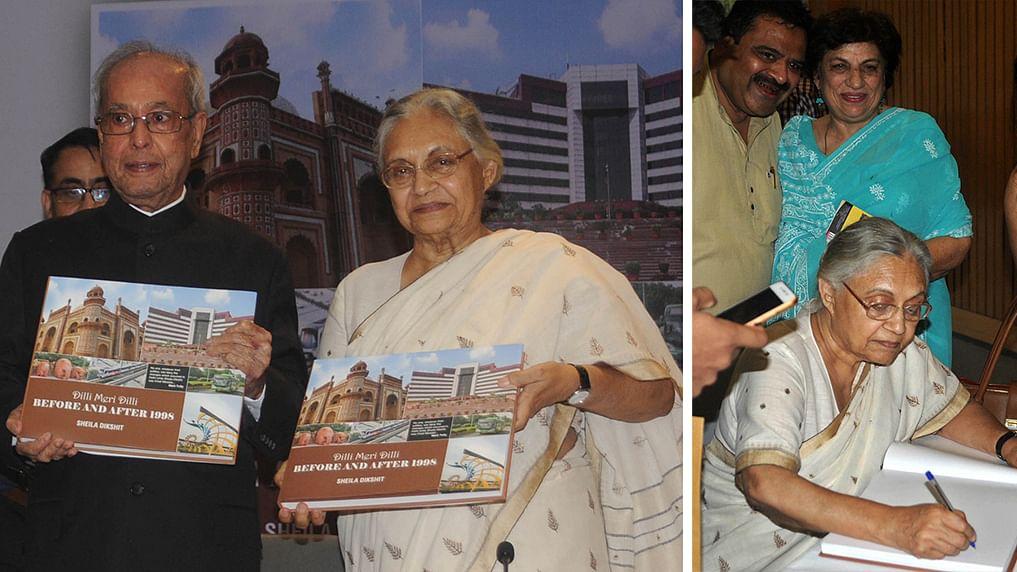 Pranab Mukherjee releases Sheila Dikshit's book 'Meri Dilli Meri'