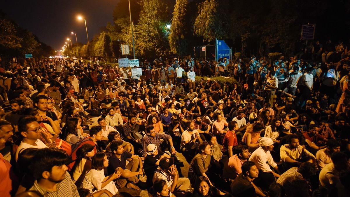 Delhi Police files rioting case against JNU students