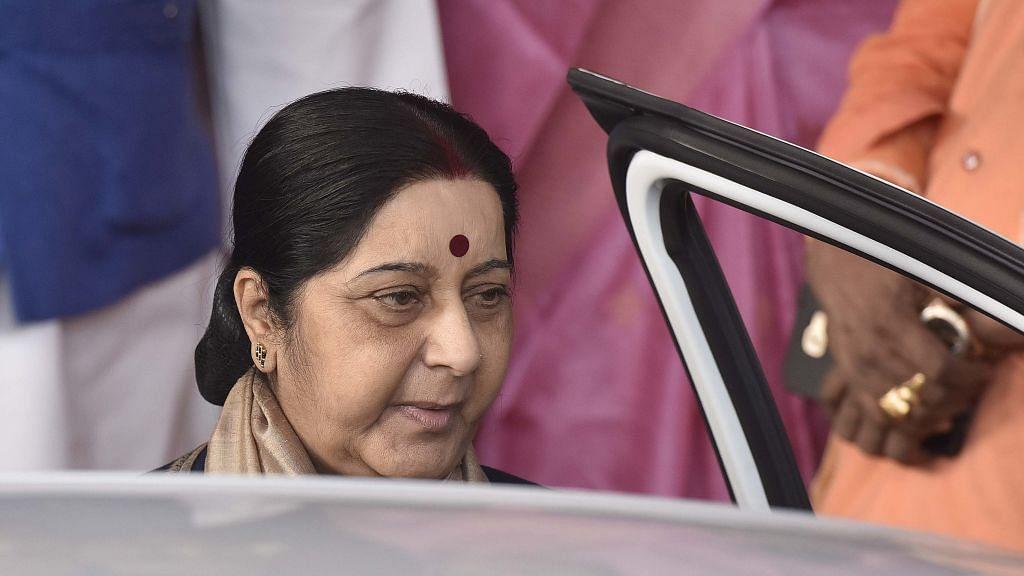 Sushma Swaraj rebukes Naresh Agarwal for his words on Jaya Bachchan