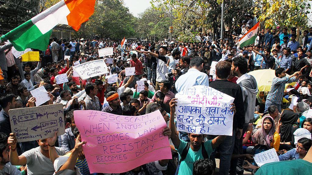 SSC Exam Scam: Delhi Metro, toilets, Internet shut down to disperse unemployed
