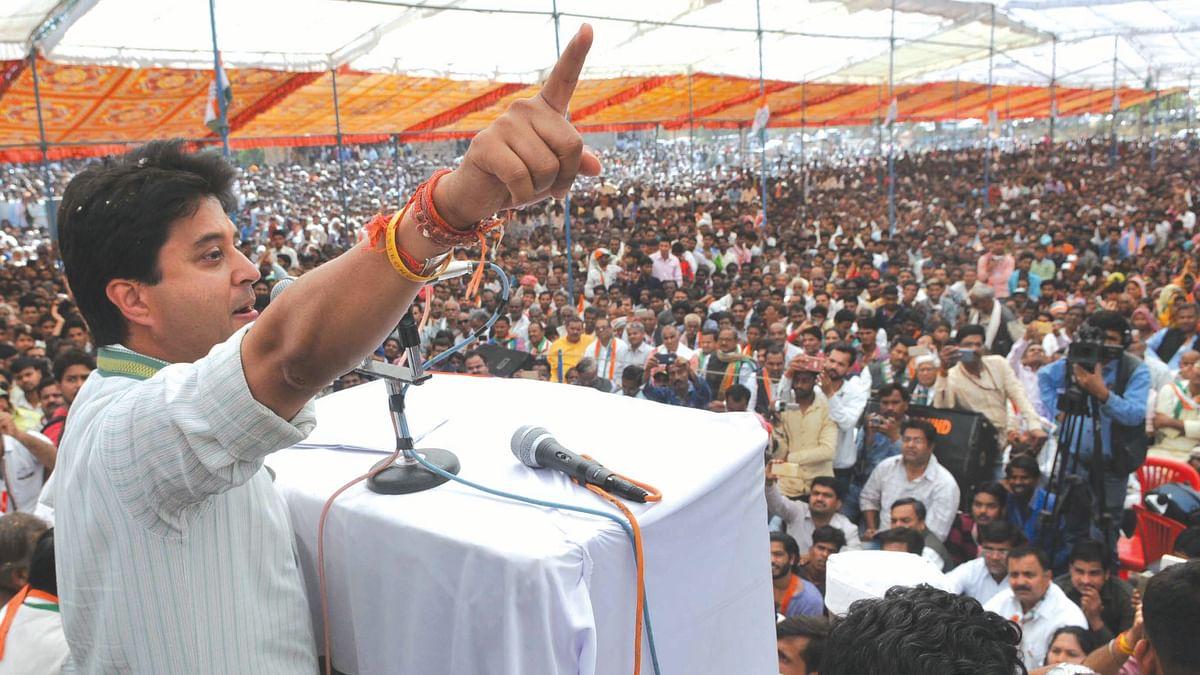 In Madhya Pradesh, it is advantage Congress