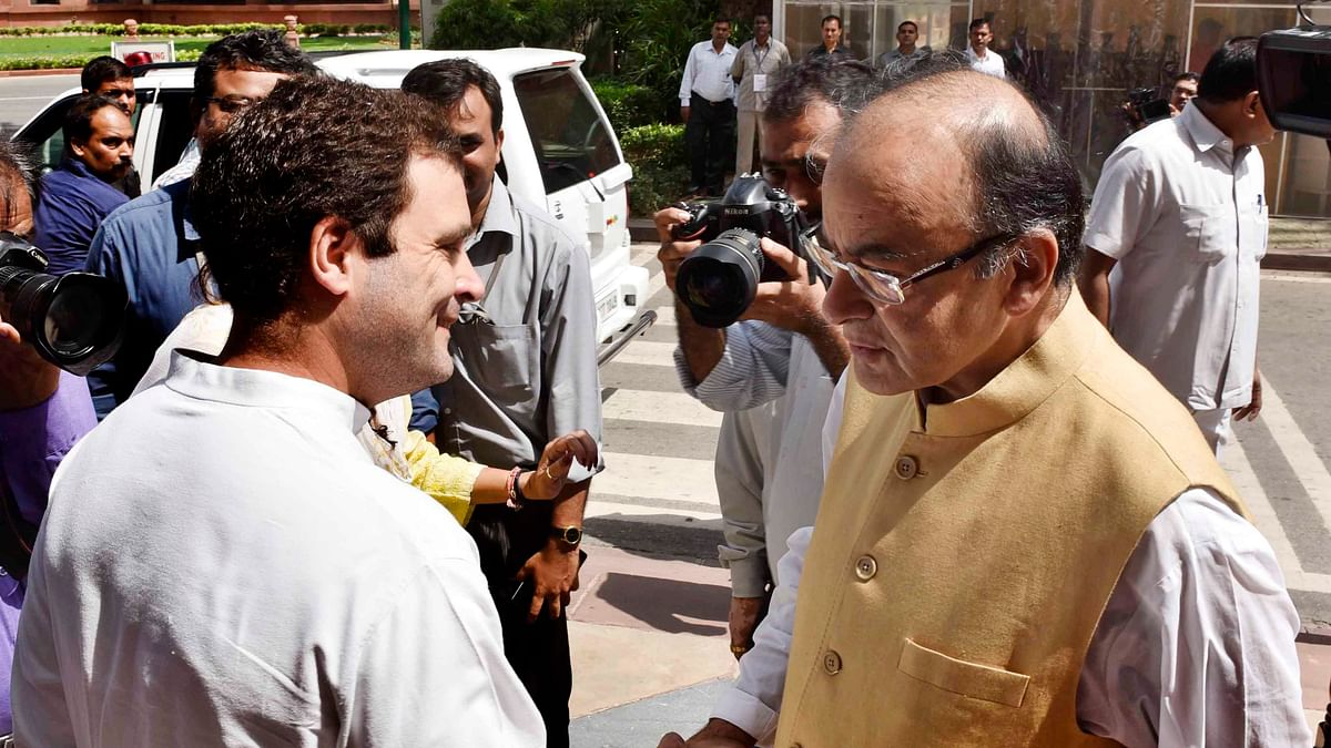 Rahul says Jaitley silent on PNB scam to protect daughter