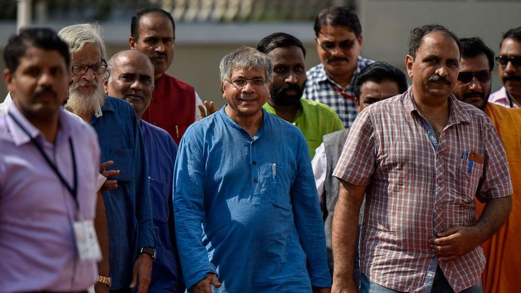 NH Exclusive: Prakash Ambedkar to challenge Yogi in court on BR Ambedkar name issue