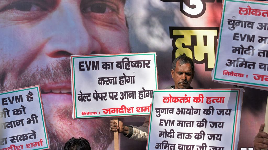 Opposition's back-to-ballot campaign against EVMs gathers steam