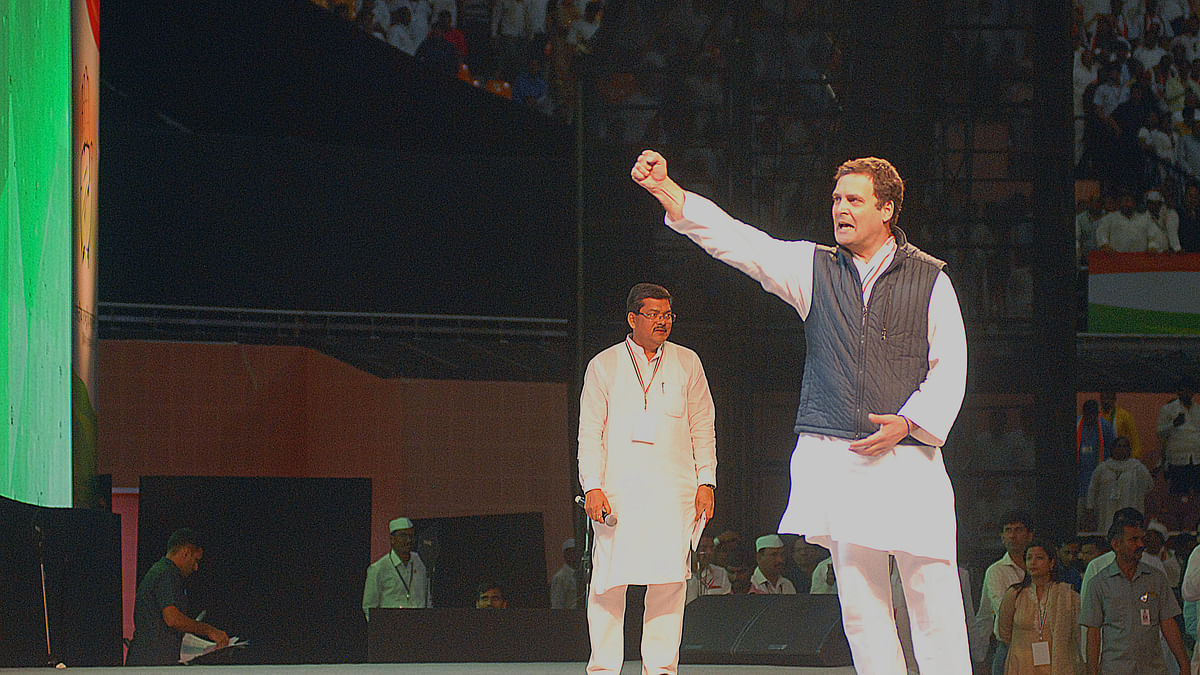 In Rahul Gandhi,  Congress and India got a leader who faces the future, not the past
