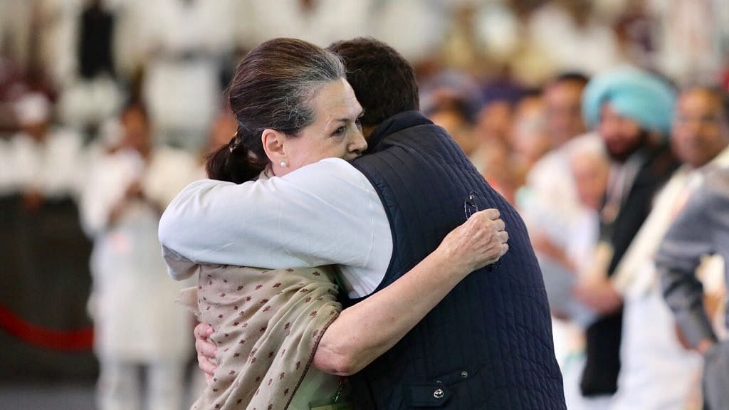 Sonia Gandhi: Congress never succumbed to pressure and never will