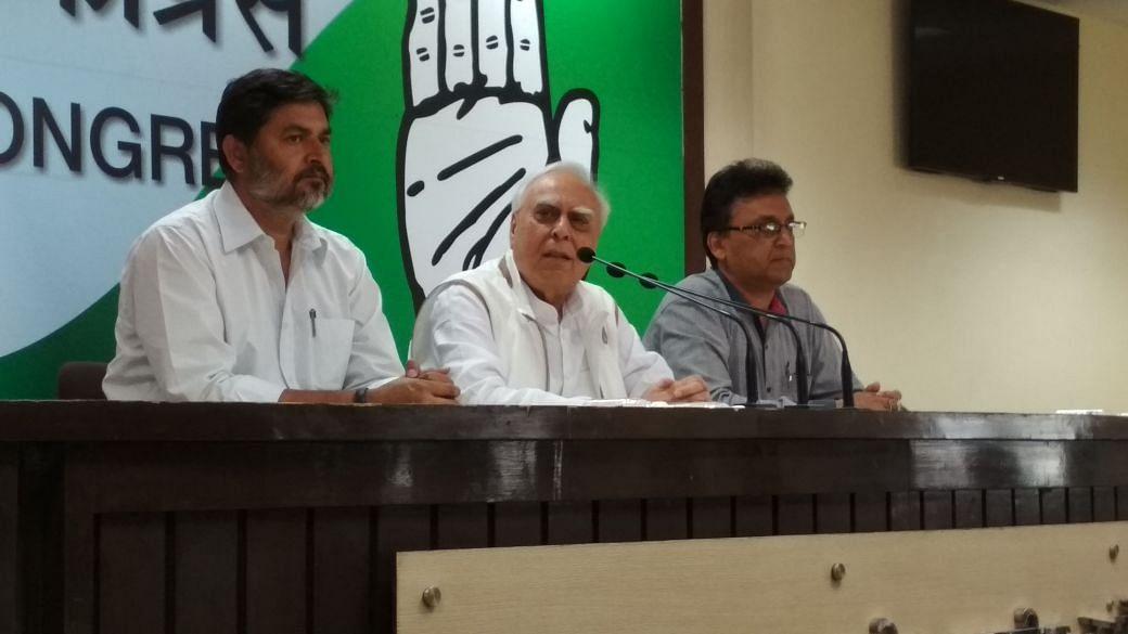 Kapil Sibal says he'll file defamation case against Smriti Irani