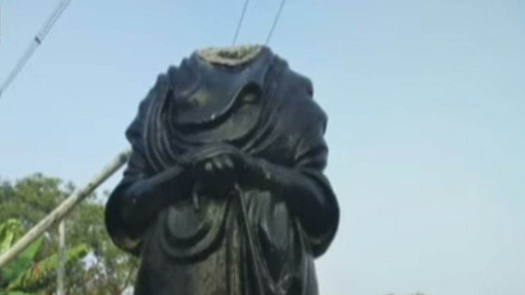 Another Periyar statue vandalised; Rahul Gandhi slams BJP-RSS