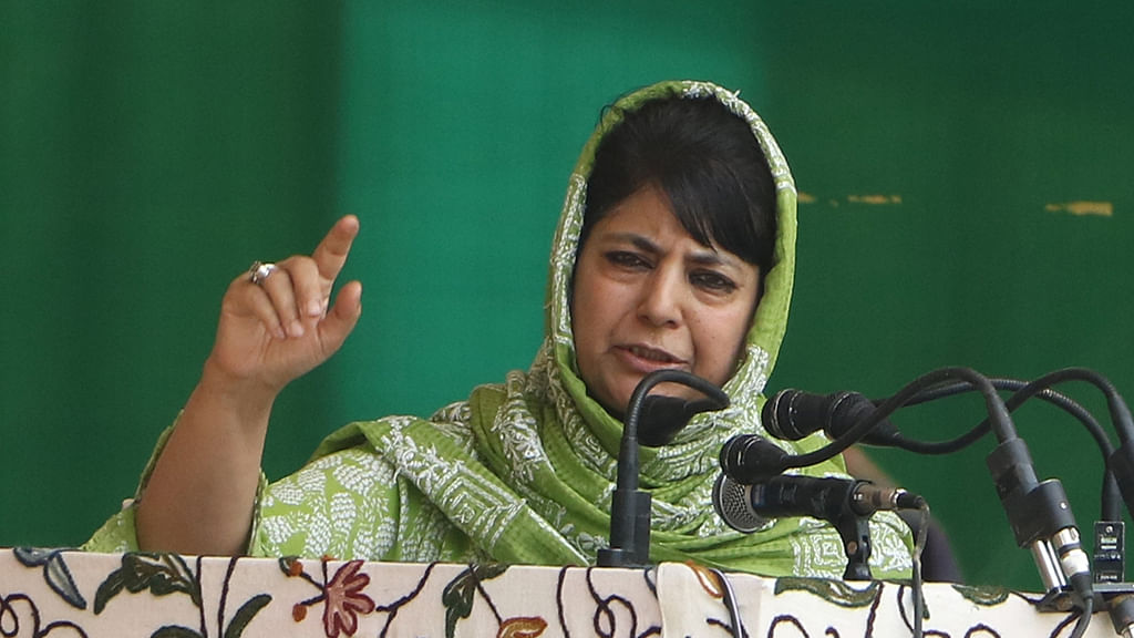 Mehbooba Mufti: BJP's muscular policy not working in J&K, dialogue is the only way