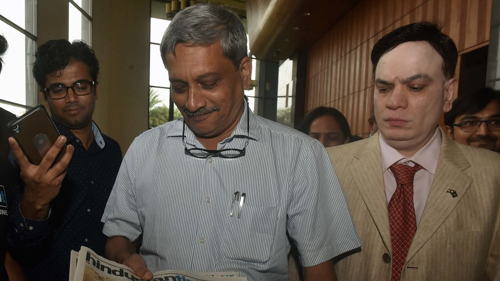 Parrikar's office calls letter of 'repentance' a mischievous hoax