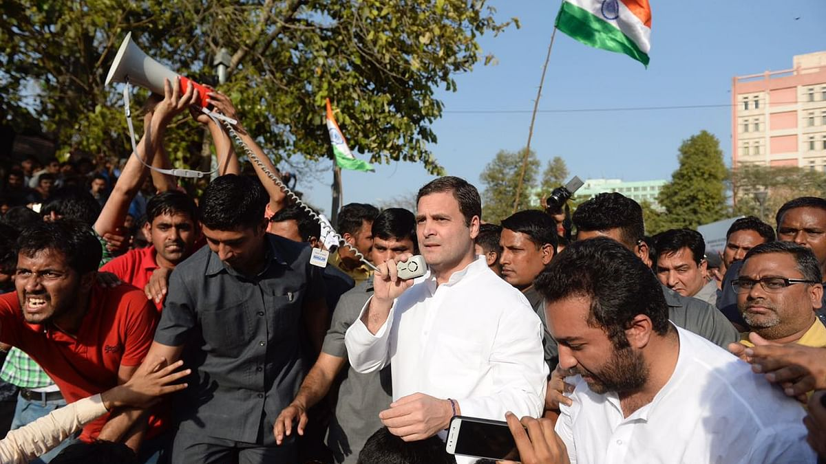SSC Exam Scam: Rahul assures support to protestors