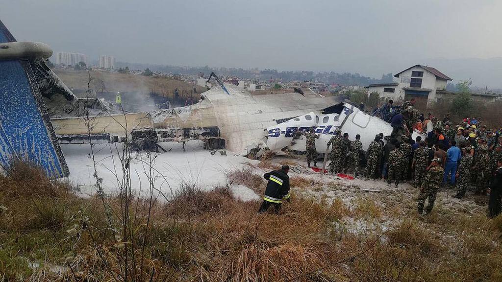 US-Bangla plane carrying 67 passengers crashes in Kathmandu