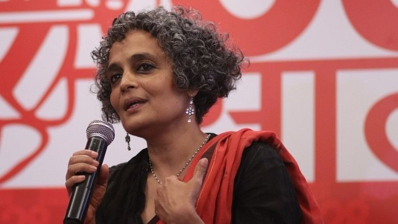 """Because I love you"" says Arundhati Roy to readers, when asked why she writes what she does"