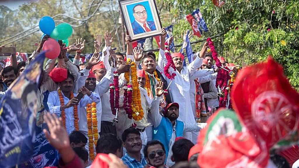 SP-BSP bonhomie jolts BJP, shocks Yogi and humbles Maurya