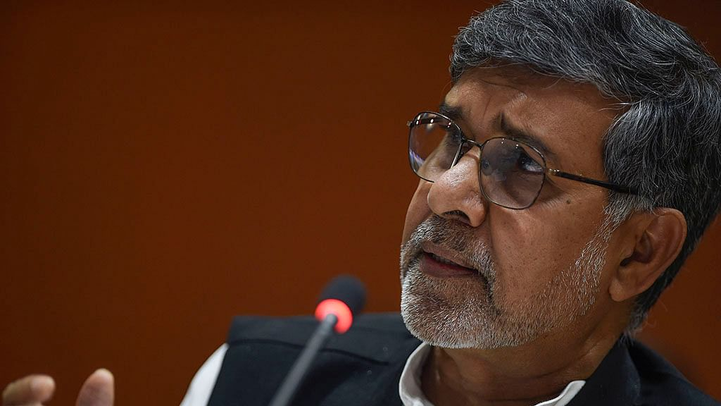 File photo of Kailash Satyarthi