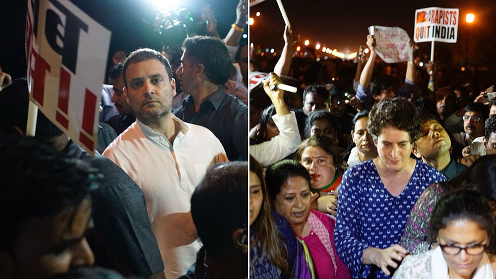 Rahul, Priyanka's midnight vigil for justice for Unnao, Kathua rape cases—10 takeaways