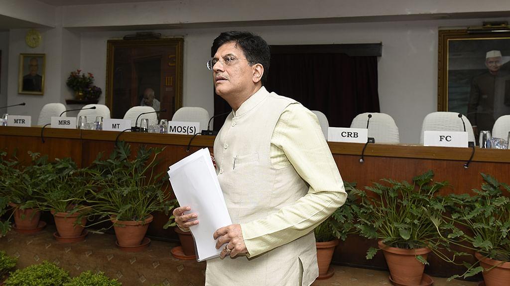Sack Piyush Goyal immediately, demands Congress