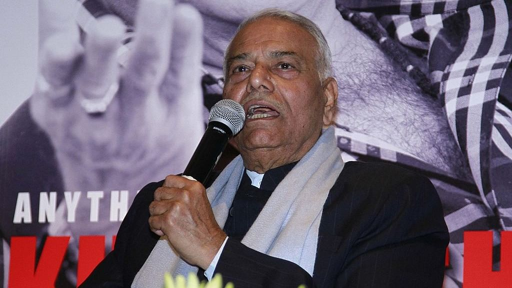 "Yashwant Sinha wins kudos for letter asking BJP MPs to ""speak up"""