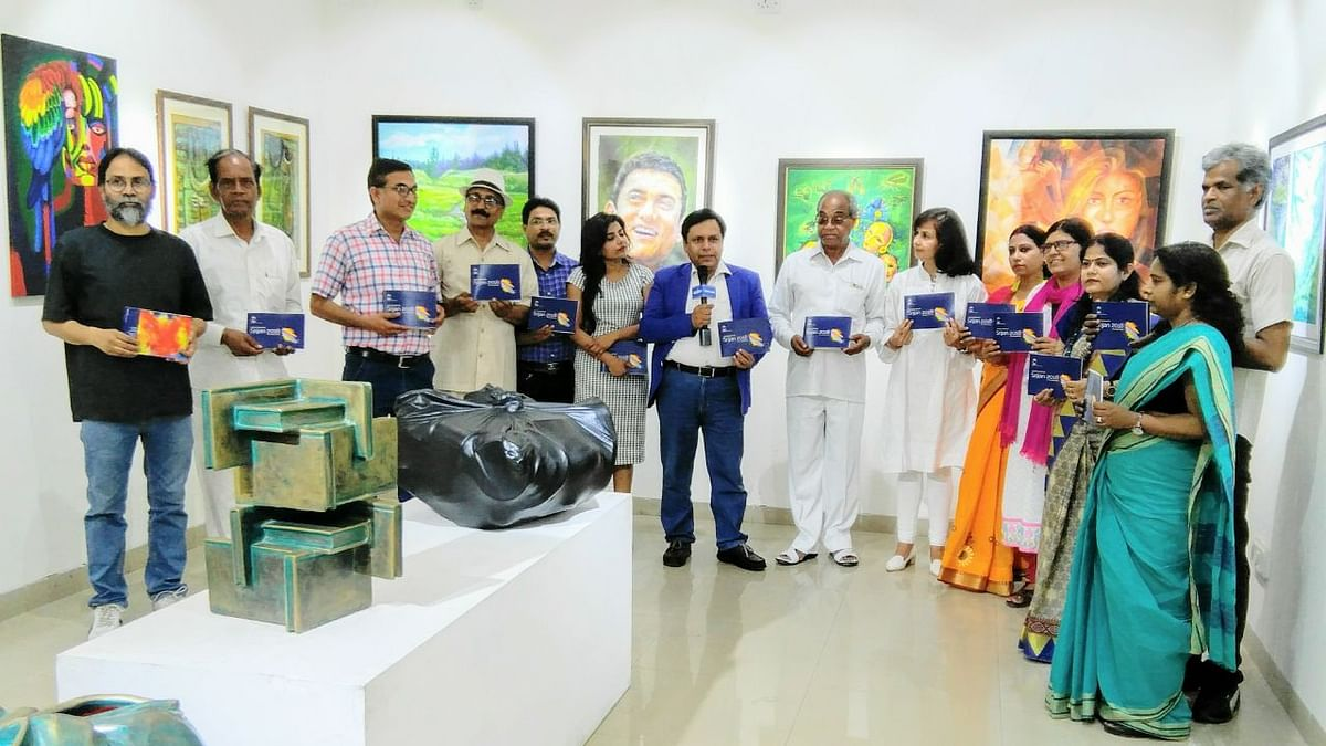 Srijan: A group show of artworks by 20 artists