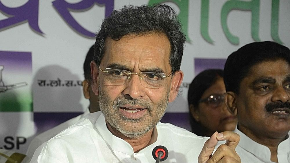Bihar: Silence in NDA after attack on Minister Upendra Kushwaha