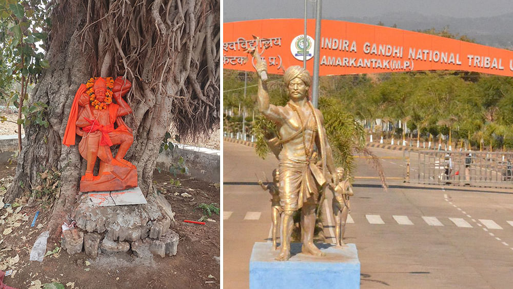 Madhya Pradesh: Tension as Hanuman statue placed in tribal university