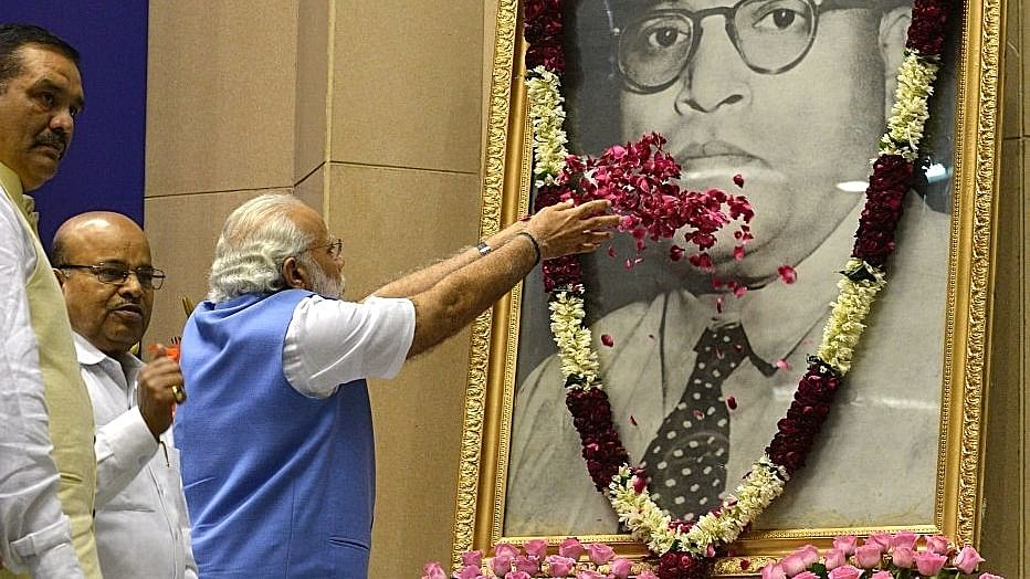 BJP makes a show of honoring Ambedkar while eroding his principles