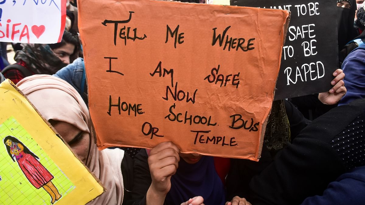 Kathua rape case: BJP minister who resigned now stages protest march