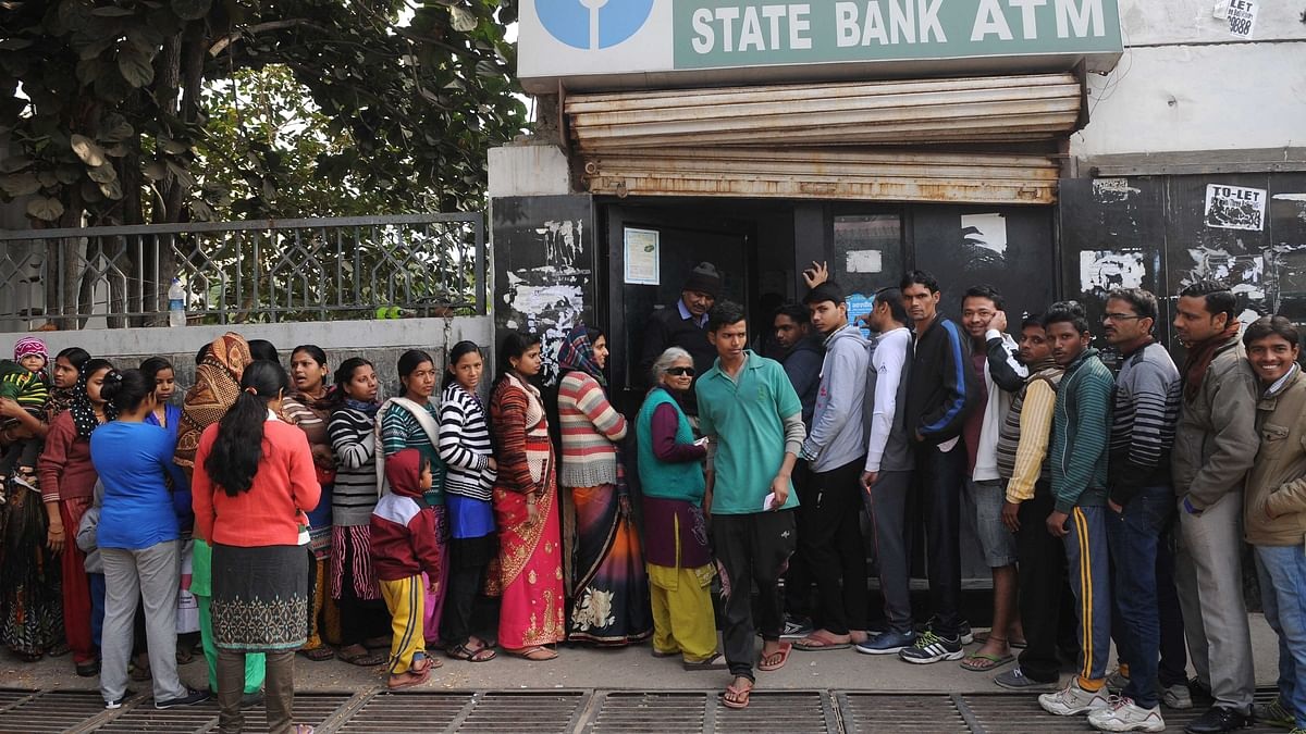 Cash crunch woes at banks and ATMs in Bihar